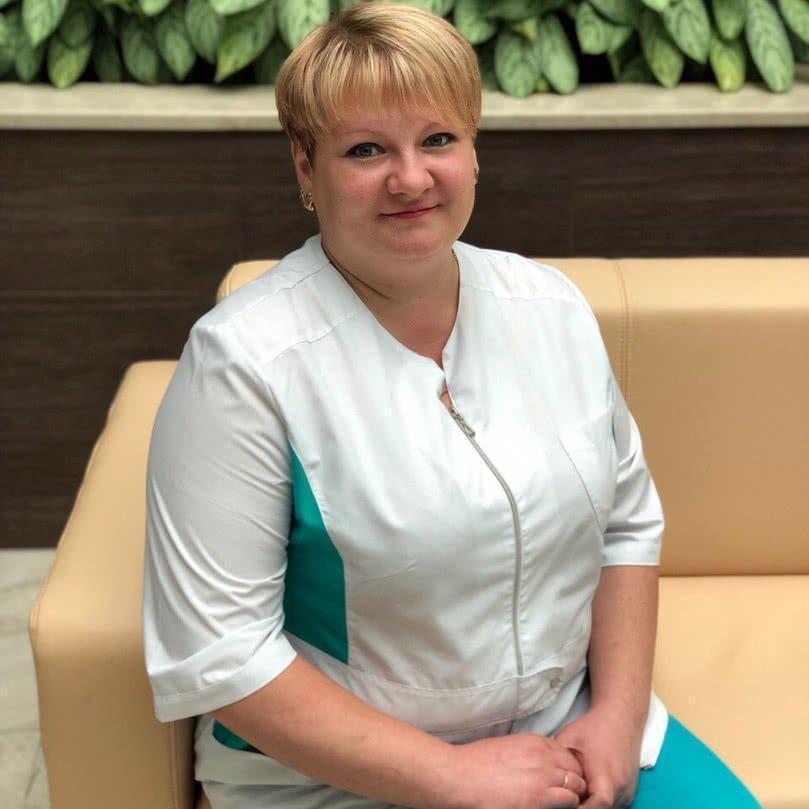 Буканова Елена Сергеевна – старшая медицинская сестра