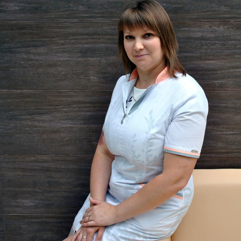 Чечёта Алёна – старшая медсестра