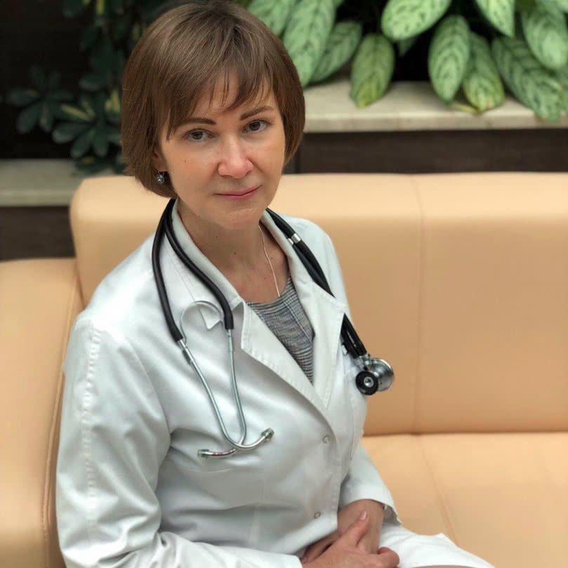 Гаврилова Елена Сергеевна – заведующая 1 терапевтическим отделением
