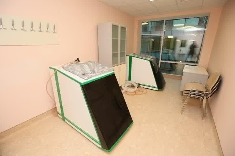 Кабиент «сухих» углекислых ванн