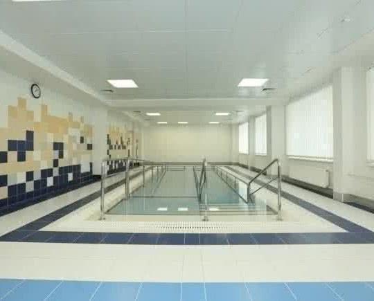 Комплекс бассейнов для индивидуальных занятий ЛФК в воде