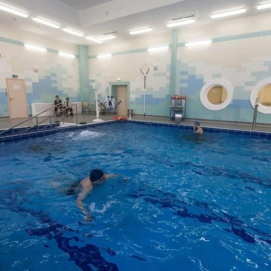 Новый бассейн открыт для посещения всех желающих