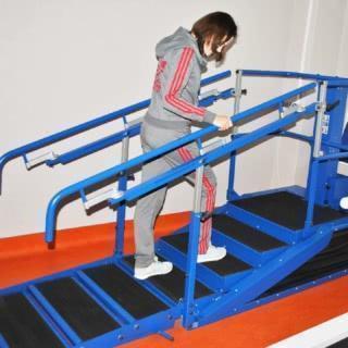 тренажер лестница-брусья
